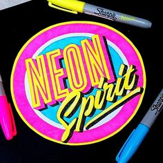 WEBSTA @ el_juantastico - The colors of my soul... #happy #friday everyone. #type #typographyclub #typographyinspired #thedailytype #goodtype #calligritype #typespire #goodtype #goodart #graphicdesign #graphicart #instagram #inspiration #neon #color #sharpie #letras #tipografia #black #sketch #drawing #art #ilovetype #designinspiration #typehype #typegang