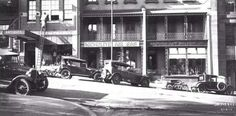 The corner of Carrington and Margaret Streets in Wynyard,Sydney in the 1920s.