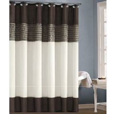 Fabric Shower Curtain with Sequins (Mocha) Duck Bladesafe http://www.amazon.com/dp/B00K6JDYMG/ref=cm_sw_r_pi_dp_Gxirub0B6Y5N7