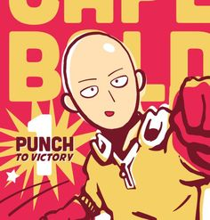 One Punch Man - Saitama  Wall | VK