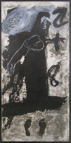 Antoni Tàpies   Técnica: Aguafuerte, Resinas y Carborumdum  Tamaño: 100 x 200 cm  1988