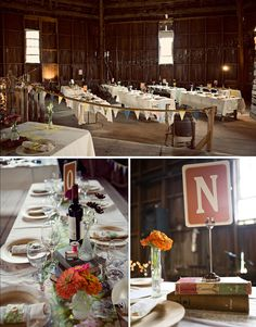 "pennants are everywhere these days...like the different ""vintage"" looking fabrics used for table runners"