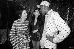 Pin for Later: Nobody Throws Parties Quite Like the Kardashian Family's Christmas Bash Kardashian Christmas, Kardashian Family, Kardashian Style, Kardashian Jenner, Kylie Jenner Friends, Kendall And Kylie Jenner, Jenner Family, Tyler The Creator, Jenner Sisters