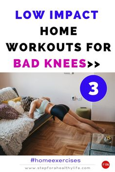 Are you starting to home full body workout at home and have knee pain?or just to reduce the impact on your knees? Or you have painful bad knees and high-impact exercise just isn't in your future…at all? TRY THESE EASY FULL BODY NON-IMPACT & no jump WORKOUTS 👍 Workouts to do at home,workout at home,workout for women,home workouts,motivated to workout,strength,belly fat,strength motivation,workout for beginners workout beginners,weight loss,low impact cardio workout, bad knees,10 minutes workout Low Impact Cardio Workout, Jump Workout, Toning Workouts, Easy Workouts, Exercise, At Home Workouts For Women, Full Body Workout At Home, Bad Knees, Lose Weight