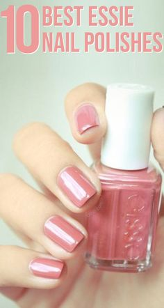 Here is a collection of some of the best Essie nail polishes out of the many gorgeous ones available.