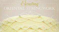 piping stringwork tutorial by Toba Garrett on Craftsy