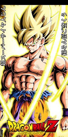 goku ssj by on DeviantArt Dragon Ball Z, Goku Dragon, Super Saiyan 3, Super Goku, Goku Pics, Kid Goku, Dbz Characters, Batman Dark, Draw