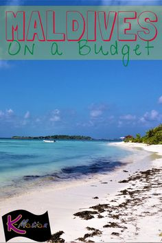 Can you visit the Maldives on a budget? Most definitely! Let us show you how it's done! #maldives #beaches #budget #budgettravel #travel