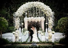 Beautiful Ceremony Decor Inspiration - Aisle Arches