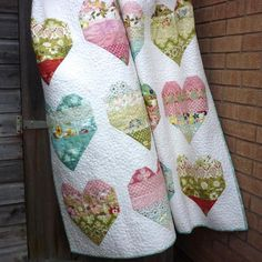 Jelly Roll Quilt Pattern Take Heart | Craftsy