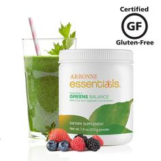 One serving of #Arbonne Greens Balance is equivalent to one serving of vegetables. Add it to your #protein shake, juice or water for a powerful blend of prebiotics, phytonutrients, antioxidants, vitamins and minerals. #wellness  CLICK PIC TO ORDER