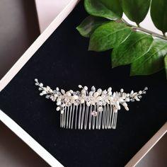 Crystal Wedding, Wedding Hair Accessories, Wedding Hairstyles, Diamond Earrings, Pearls, Crystals, Jewelry, Jewlery, Jewerly