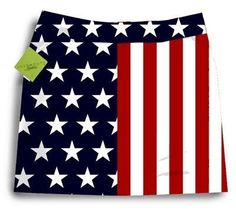 Loudmouth Golf Womens Skort: Stars & Stripes - Size 6 by Loudmouth Golf. $75.00. Golf is a game that should be fun. Wearing LOUD shorts on the course can make it a lot more fun, especially if other players think your clothes are too loud.