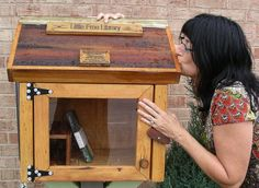 The Little Free Library project is a good reminder that even though technology is amazing and innovative and freeing, sometimes it's nice to just borrow a book! #littlefreelibrary #communitylibrary