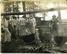 Cleaning hogs  // The Martha Alice Stewart: Time on Parchman Farm 1930s Collection focuses on life inside Mississippi's most notorious prison.