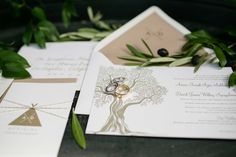 Camp-Theme Wedding Invitation    Photography: Samuel Lippke Studios   Read More:  http://www.insideweddings.com/weddings/a-rustic-elegant-camp-themed-outdoor-wedding-in-santa-barbara/908/