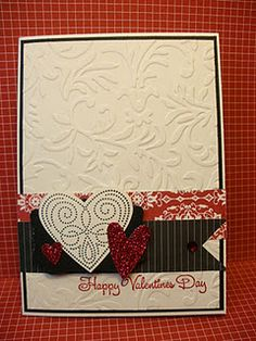 Valentine Polka Dot Punches by laura513 - Cards and Paper Crafts at Splitcoaststampers