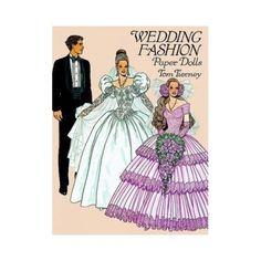 Wedding Fashion Paper Dolls Tierney, Tom: | eBay