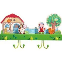 Ages 10 Months and Up HABA Farm Friends Wooden Book with Easy Turn Pages