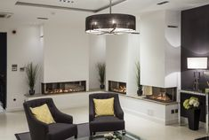 Wanders Gas fires display Showroom, Gas Fires, Cabinet, Fireplaces, Table, Bob, Display, Furniture, Home Decor
