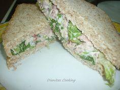 dianitas cooking: Γρήγορο Σάντουιτς με Τόνο και Μαγιονέζα!!!! Street Food, Buffet, Sandwiches, Tacos, Brunch, Mexican, Cooking, Breakfast, Ethnic Recipes