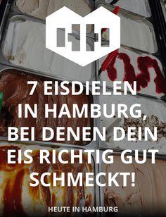 7 really delicious ice cream parlors in Hamburg, where you better not pass! Which ice cream parlors British Library, Future City, Pompeii, British Museum, Moon Museum, Art Museum, 17th Century Art, Ice Cream Parlor, Hamburg Germany