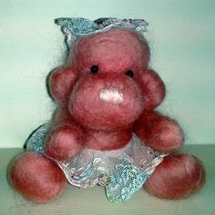 Rosie -  a needle felted animal