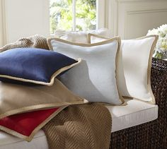 Jute Braid Pillow Cover | Pottery Barn