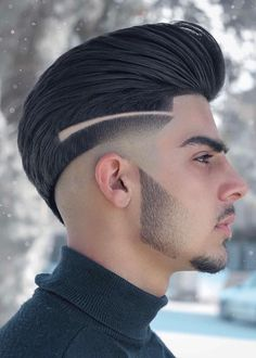 Cool Mens Haircuts, Dope Hairstyles, Barber Hairstyles, Popular Mens Hairstyles, Winter Hairstyles, Medium Hairstyles, Latest Hairstyles, Pretty Hairstyles, Hair Style Image Man