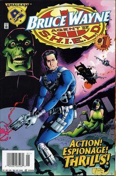 Amalgam Comics - Bruce Wayne, Agent of S.H.I.E.L.D.