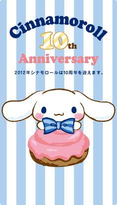 Cinnamoroll 10th Anniversary!!!!!