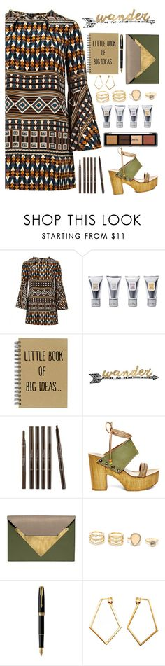 """""""Untitled #288"""" by annbaker ❤ liked on Polyvore featuring Gucci, Laura Mercier, Thirstystone, Etude House, Steve Madden, Dareen Hakim, LULUS, Parker and Dutch Basics"""