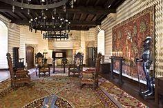 Great Hall on Second Level | Medieval Castle de Montbrun, Dournazac, Haute-Vienne, France
