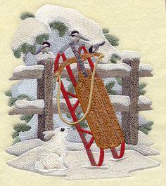 Winter Toboggan