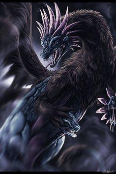 Hydreigon ... it's still a dragon, it just has heads instead of front legs!