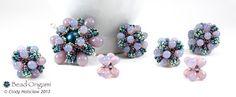 Bead Origami: Raindrop Flower Beaded Bead Sets