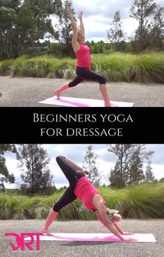 Free 10 minute yoga video for dressage riders to help improve posture and alignment.
