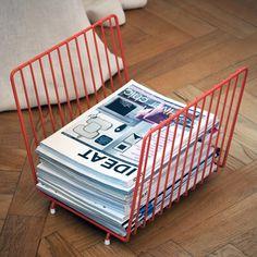 journal magazine rack