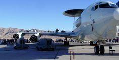 E-3 Sentry AWACS aircraft at Aviation Nation 2008