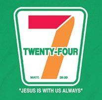 24/7 Seven Days A Week