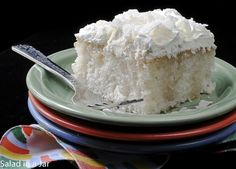 review of Amie's Triple Coconut Cake (Salad in a Jar)