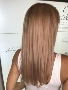 Rose shine after highlights Rose Hair Color, Hair Colors, Trends, Highlights, Long Hair Styles, Beauty, Rose Hairstyle, Shaving Machine, Barber Shop Names