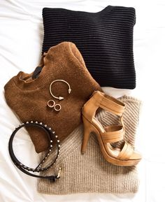 Knits and neutrals. #winterstyle #cozyup #nyc
