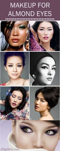 Asian Infusion: A DDG Moodboard full of makeup ideas for Asian eyes - dropdeadgorgeousdaily.com