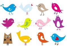 vector birds - vector illustratie van beaubelle - Stockfresh #342689