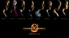 the hunger games characters wallpaper