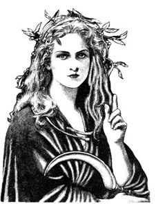 Diana-Roman Goddess She is the protector of all things wild; trees, animals, flowers, and most of all women.