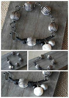 Annealed-Wire-Leather-link-Bracelet.jpg 700×1,000 pixels