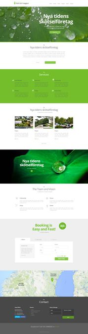Uber for Landscaping, create the future landing page for us! by Danny Dekkers