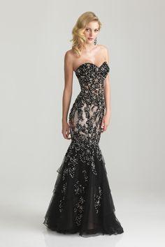 2012 Prom Dresses New Arrival 2013 Prom Dresses Black Trumpet/Mermaid Sweetheart USD 299.00 PL8SPTNC